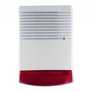 Σειρήνα εξωτερικού χώρου BS-1W, LED, Red | Συναγερμοί | elabstore.gr
