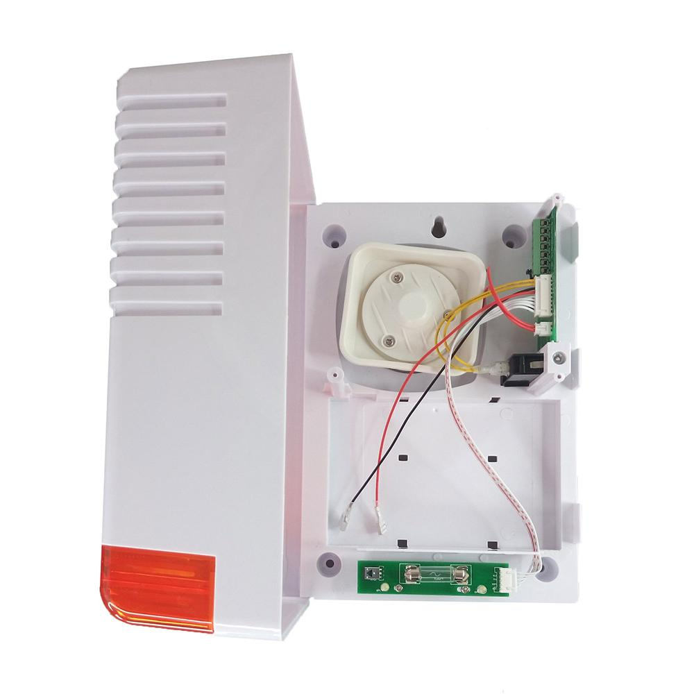Σειρήνα εξωτερικού χώρου BS-2W, LED, Orange | Συναγερμοί | elabstore.gr