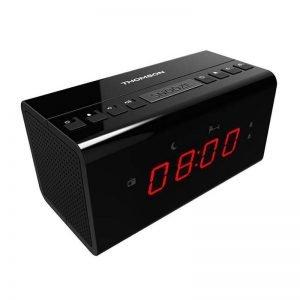 THOMSON Ξυπνητήρι CR50 με ραδιόφωνο, μαύρο | Εικόνα & Ήχος | elabstore.gr