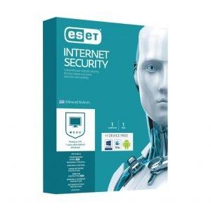 ESET Internet Security, 1 άδεια χρήσης + δωρεάν για 1 συσκευή, 1 έτος | Software | elabstore.gr