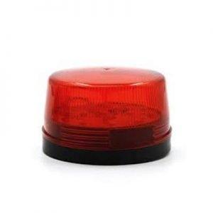 Strobe εσωτερικών & εξωτερικών χώρων, LED, 12V, Red | Συναγερμοί | elabstore.gr
