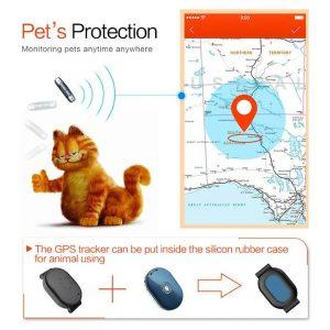 Θήκη κολάρου για κατοικίδια, για τα GPS Tracker Q60, Black | GPS | elabstore.gr