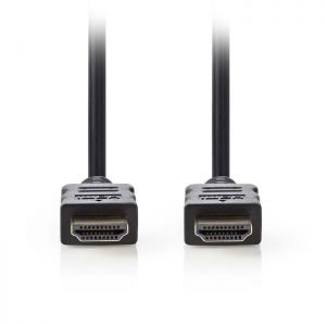NEDIS CVGP34000BK05 High Speed HDMI, Cable with Ethernet, HDMI, Connector - HDMI | ΚΑΛΩΔΙΑ / ADAPTORS | elabstore.gr
