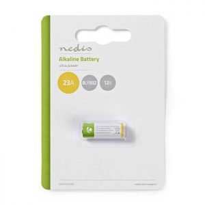 NEDIS BAAK23A1BL Alkaline Battery 23A, 12 V, 1 piece, Blister | ΜΠΑΤΑΡΙΕΣ / ENERGY | elabstore.gr