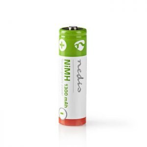NEDIS BANM13HR64B Rechargeable Ni-MH Battery AA, 1.2V, 1300 mAh, 4 pieces, Blist | ΜΠΑΤΑΡΙΕΣ / ENERGY | elabstore.gr