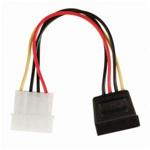 NEDIS CCGP73500VA015 Internal Power Cable, Molex Male - SATA 15-pin Female, 0.15 | ΚΑΛΩΔΙΑ / ADAPTORS | elabstore.gr