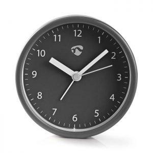 NEDIS CLDK006GY Analogue Desk Alarm Clock, Grey | ΜΙΚΡΟΣΥΣΚΕΥΕΣ / ΕΠΟΧΙΑΚΑ / ΛΕΥΚΕΣ ΣΥΣΚΕΥΕΣ | elabstore.gr