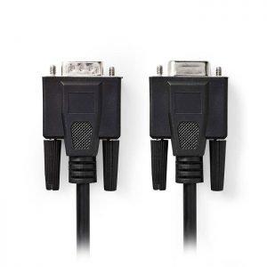 NEDIS CCGP59100BK200 VGA Cable VGA Male-VGA Female 20m Black | ΚΑΛΩΔΙΑ / ADAPTORS | elabstore.gr
