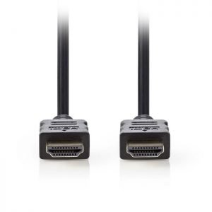 NEDIS CVGP34000BK50 High Speed HDMI Cable with Ethernet HDMI Connector-HDMI Conn | ΚΑΛΩΔΙΑ / ADAPTORS | elabstore.gr