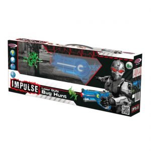 JAMARA Impulse Laser Gun Bug Hunt, LED, με υπέρυθρες, μπλε | Παιχνίδια | elabstore.gr