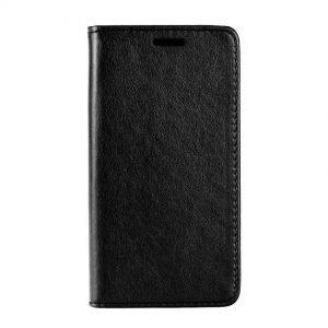 POWERTECH Θήκη Leather magnet για Samsung A6 Plus 2018, μαύρη | Αξεσουάρ κινητών | elabstore.gr