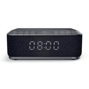 BIGBEN ξυπνητήρι RR140INBT, bluetooth, FM Radio, Ασύρματη φόρτιση, μαύρο | Εικόνα & Ήχος | elabstore.gr