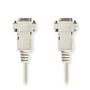 NEDIS CCGP59001IV20 VGA Cable VGA Male - VGA Male 2.0m Ivory | ΚΑΛΩΔΙΑ / ADAPTORS | elabstore.gr