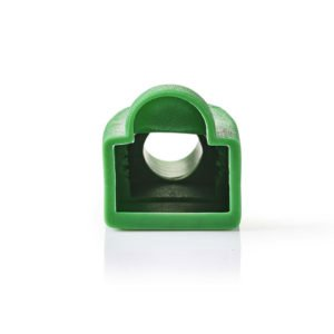 NEDIS CCGP89900GN Green Strain Relief Boot For RJ45 Network Connectors-10 pieces | ΚΑΛΩΔΙΑ / ADAPTORS | elabstore.gr