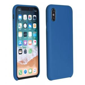 POWERTECH Θήκη Silicon Velvet MOB-1116 για iPhone 7/8 Plus, μπλε | Αξεσουάρ κινητών | elabstore.gr