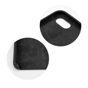 POWERTECH Θήκη Silicon Velvet MOB-1120 για iPhone XS, μαύρη   Αξεσουάρ κινητών   elabstore.gr
