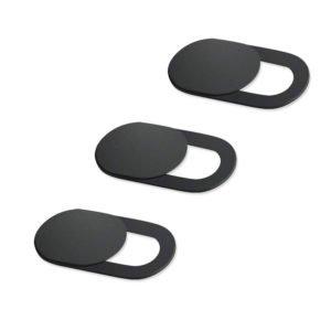 Προστατευτικό κάλυμμα κάμερας SPPIP-001, universal, 3τμχ, μαύρο | Gadgets | elabstore.gr
