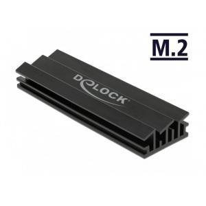 DELOCK Ψύκτρα 70 mm για M.2 συσκευές, μαύρη | Υπολογιστής & Αναβάθμιση | elabstore.gr