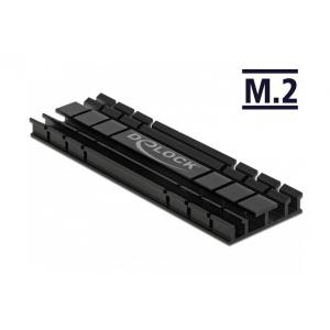 DELOCK Ψύκτρα 70 mm flat για M.2 συσκευές, μαύρη | Υπολογιστής & Αναβάθμιση | elabstore.gr