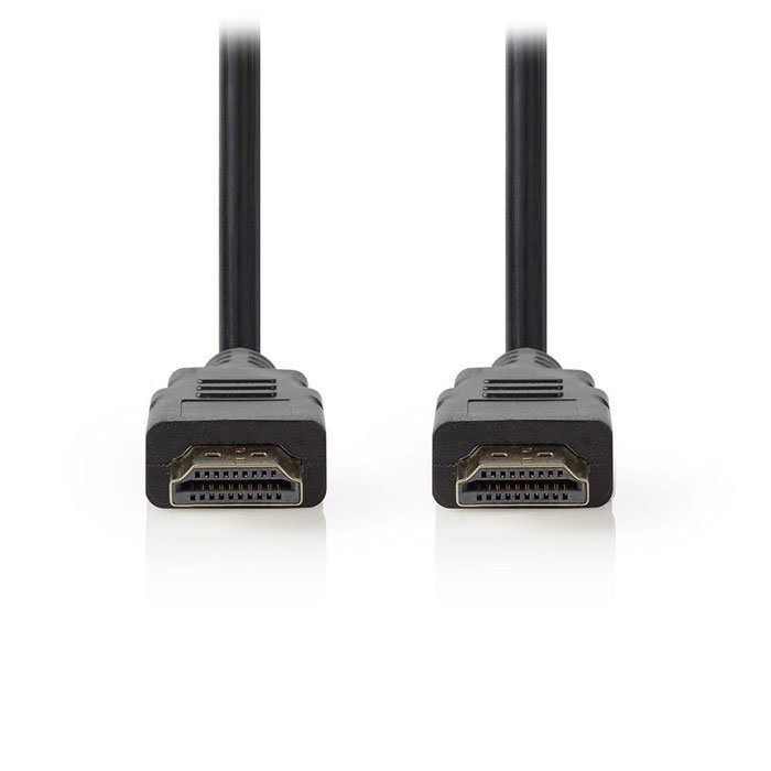 NEDIS CVGT34001BK10 High Speed HDMI Cable with Ethernet HDMI Connector-HDMI Conn | ΚΑΛΩΔΙΑ / ADAPTORS | elabstore.gr