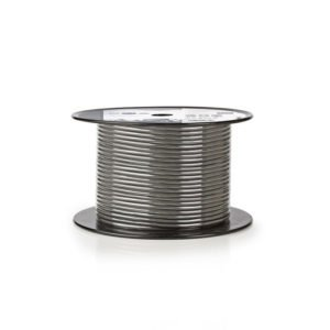 NEDIS COTR15010GY100 Microphone Cable 2x 0.23 mm² 100 m Reel Grey | ΚΑΛΩΔΙΑ / ADAPTORS | elabstore.gr