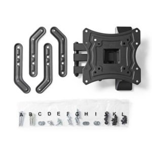 NEDIS TVWM1530BK Full Motion TV Wall Mount 23-55