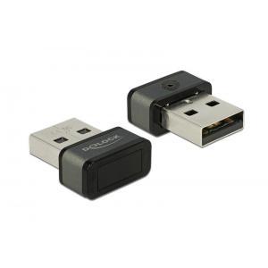 DELOCK USB Type-A Fingerprint Scanner για Windows 10 Hello   Συνοδευτικά PC   elabstore.gr