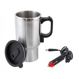 Ηλεκτρικός Θερμός AG461, 400ml, 12V, μαύρο-ασημί | Gadgets | elabstore.gr