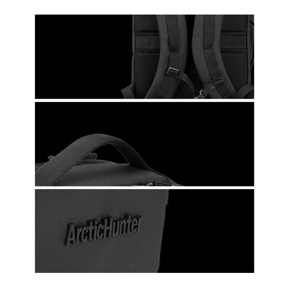 ARCTIC HUNTER τσάντα πλάτης B-00189-GY, laptop, αδιάβροχη, γκρί | Οικιακές & Προσωπικές Συσκευές | elabstore.gr