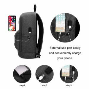ARCTIC HUNTER τσάντα πλάτης B-00290-BK, laptop, αδιάβροχη, μαύρη | Οικιακές & Προσωπικές Συσκευές | elabstore.gr