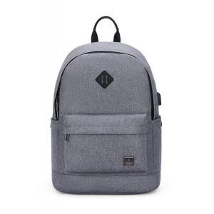 ARCTIC HUNTER τσάντα πλάτης B-00290-LG, laptop, αδιάβροχη, ανοιχτό γκρί | Οικιακές & Προσωπικές Συσκευές | elabstore.gr