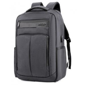 ARCTIC HUNTER τσάντα πλάτης B00121C-GY, laptop, USB, αδιάβροχη, γκρι   Οικιακές & Προσωπικές Συσκευές   elabstore.gr