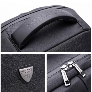 ARCTIC HUNTER τσάντα πλάτης B00193-BK, laptop, USB, αδιάβροχη, μαύρη | Οικιακές & Προσωπικές Συσκευές | elabstore.gr