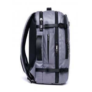 ARCTIC HUNTER τσάντα πλάτης B00260, laptop, USB-3.5mm, αδιάβροχη, γκρι   Οικιακές & Προσωπικές Συσκευές   elabstore.gr