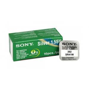 SONY Μπαταρία λιθίου για ρολόγια SR41W, 1.55V, No392, 10τμχ | Μπαταρίες - Φακοί | elabstore.gr