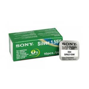 SONY Μπαταρία λιθίου για ρολόγια SR621SW, 1.55V, No364, 10τμχ | Μπαταρίες - Φακοί | elabstore.gr