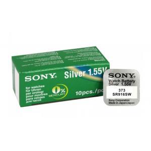 SONY Μπαταρία λιθίου για ρολόγια SR916SW, 1.55V, No373, 10τμχ   Μπαταρίες - Φακοί   elabstore.gr