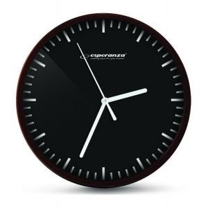 ESPERANZA ρολόι τοίχου Budapest EHC010K, μαύρο | Οικιακές & Προσωπικές Συσκευές | elabstore.gr