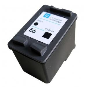 Συμβατό Inkjet για HP No 56XL, 22ml, Black | Inkjet Μελάνια | elabstore.gr