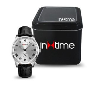 INTIME Ρολόι χειρός Casual-01, Quartz, Stainless Steel, ασημί | Οικιακές & Προσωπικές Συσκευές | elabstore.gr