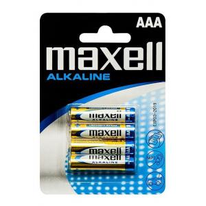 MAXELL Αλκαλικές μπαταρίες AAA LR03, 4τμχ | Μπαταρίες - Φακοί | elabstore.gr
