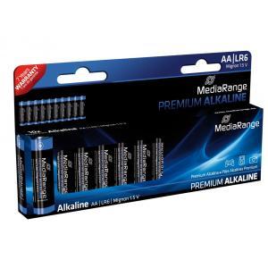 MEDIARANGE Premium Αλκαλικές μπαταρίες AA LR6, 10τμχ   Μπαταρίες - Φακοί   elabstore.gr