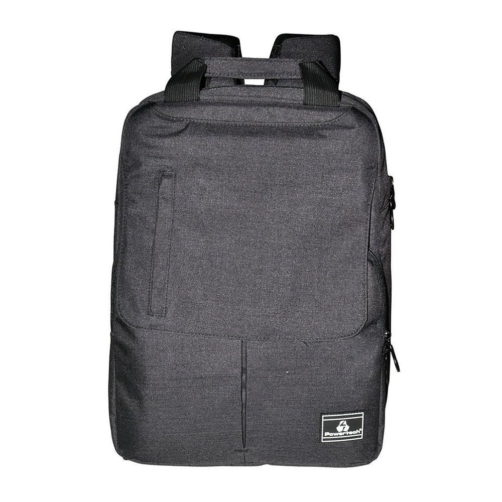 "POWERTECH Τσάντα πλάτης PT-700 για laptop έως 15.6"", γκρί | Οικιακές & Προσωπικές Συσκευές | elabstore.gr"