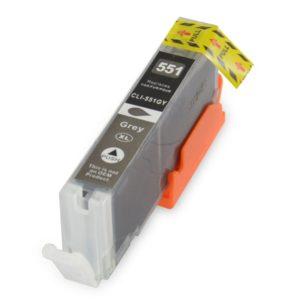 Συμβατό InkJet για Canon CLI-551, 12ml, Gray | Inkjet Μελάνια | elabstore.gr