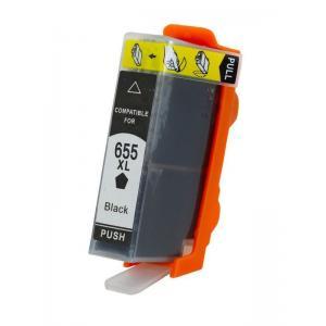 Συμβατό Inkjet για HP, 655, 21.6ml, Black | Inkjet Μελάνια | elabstore.gr