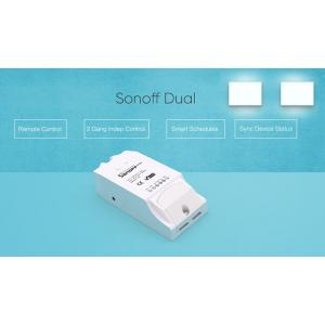 SONOFF Smart Διακόπτης Dual, 2 θέσεων, 16A, WiFi, λευκό | Οικιακές & Προσωπικές Συσκευές | elabstore.gr