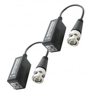 Παθητικό Video Balun HD02 για κάμερες | Κλειστό Κύκλωμα CCTV | elabstore.gr