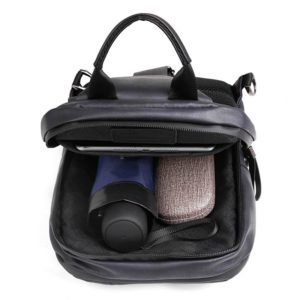 ARCTIC HUNTER Τσάντα Crossbody XB00088-BK, USB, αδιάβροχη, μαύρη   Οικιακές & Προσωπικές Συσκευές   elabstore.gr