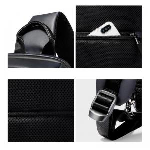 ARCTIC HUNTER Τσάντα Crossbody XB00088-BK, USB, αδιάβροχη, μαύρη | Οικιακές & Προσωπικές Συσκευές | elabstore.gr