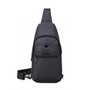 ARCTIC HUNTER τσάντα Crossbody XB13001-BK, αδιάβροχη, μαύρη | Οικιακές & Προσωπικές Συσκευές | elabstore.gr